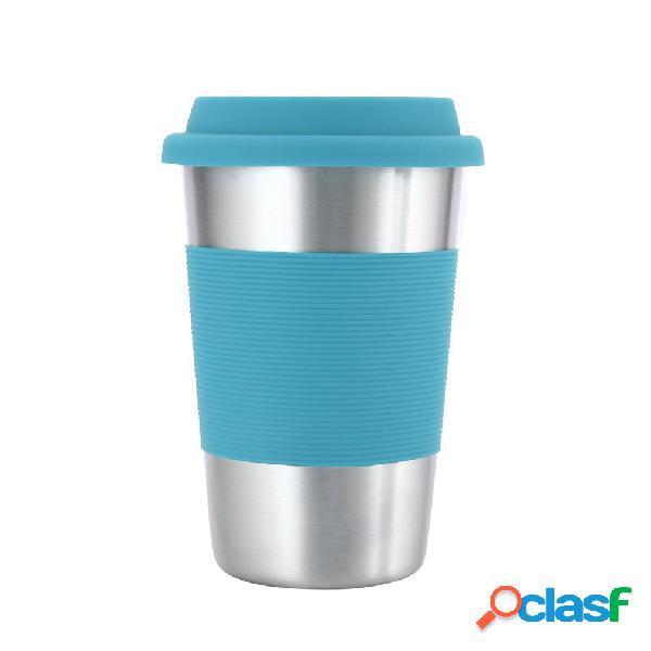 Tazza in acciaio inox 304 tazze da caffè da 500ml con