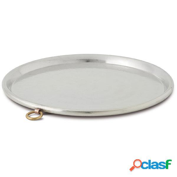 Teglia Per Farinata diametro diametro 40 cm in rame