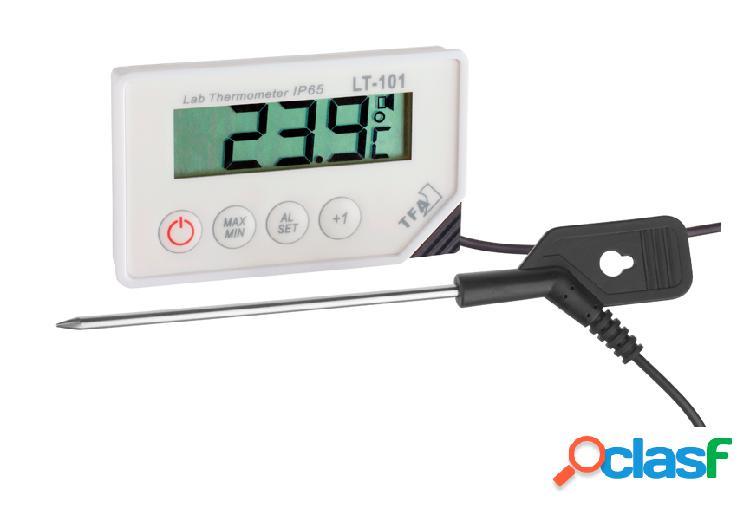 Termometro digitale con sonda e allarme con temperatura
