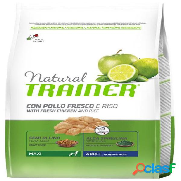 Trainer natural adult maxi pollo 12 kg