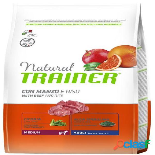 Trainer natural adult medium manzo 12 kg