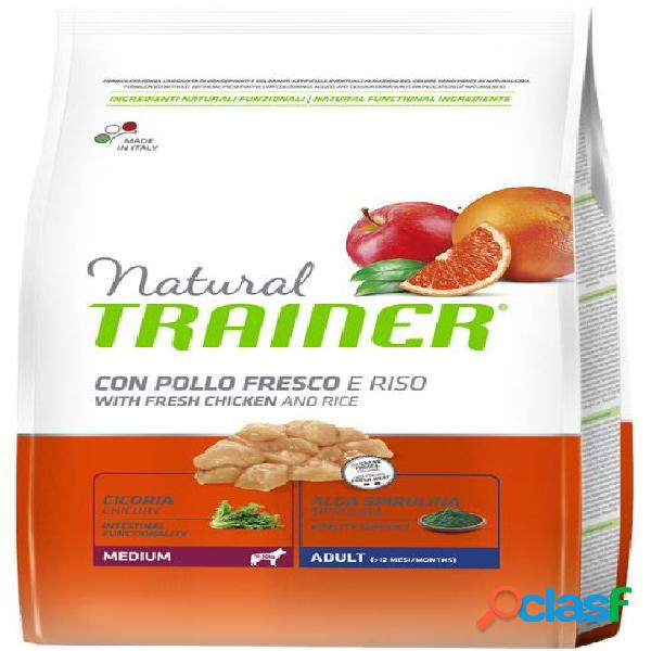 Trainer natural adult medium pollo 12 kg