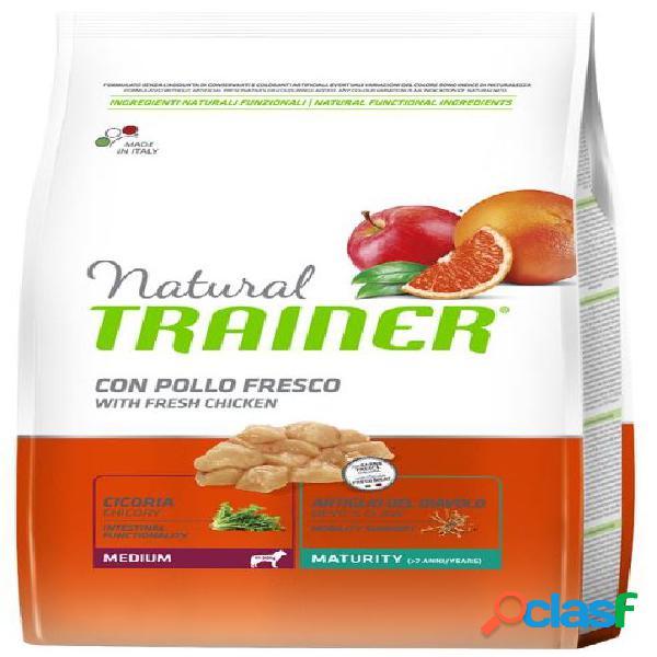 Trainer natural maturity medium pollo fresco kg 3