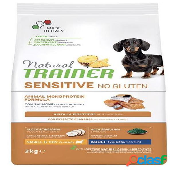 Trainer natural sensitive no gluten adult small & toy /
