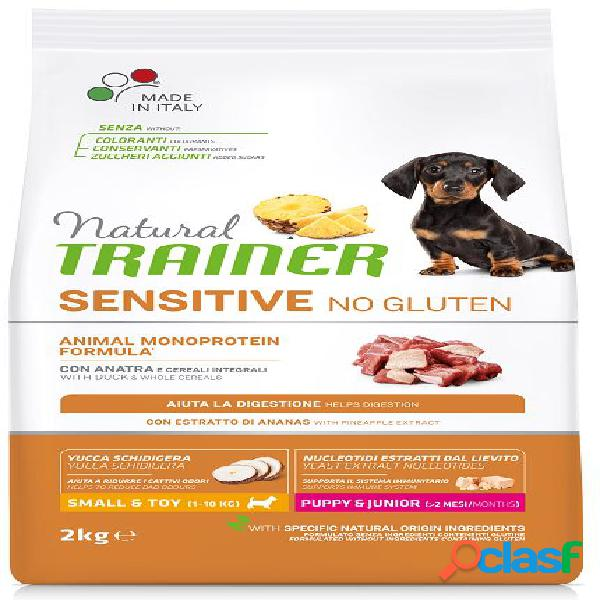 Trainer natural sensitive no gluten puppy & junior small toy