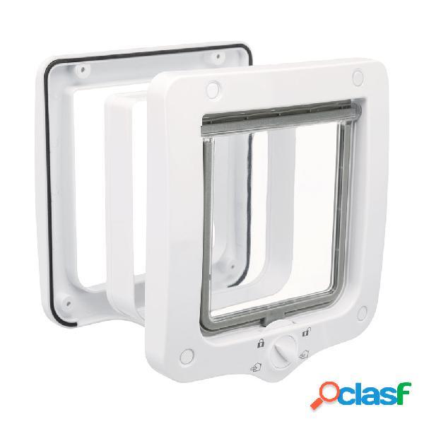 Trixie Porta 4 funzioni con tunnel 20x22 cm colore bianco