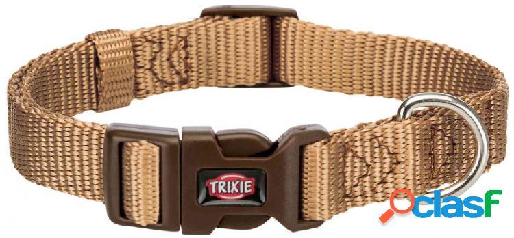 Trixie premium collare m - l 35-55 cm / 20 mm beige