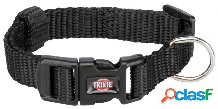 Trixie premium collare s - m 30-45 cm / 15 mm nero