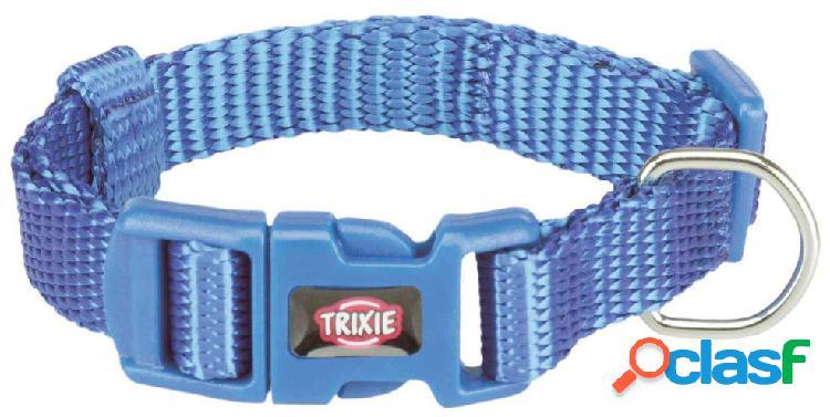 Trixie premium collare xxs - xs 15-25 cm / 10 mm blu