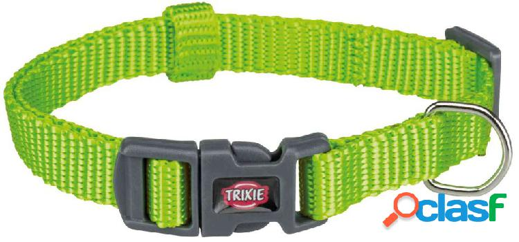 Trixie premium collare xxs - xs 15-25 cm / 10 mm verde