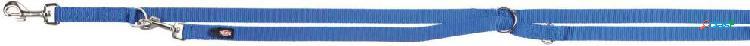 Trixie premium guinzaglio addestramento l-xl 3 m / 25 mm blu