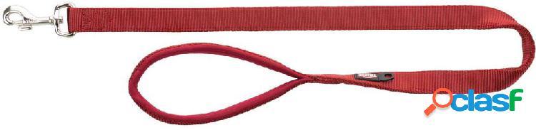 Trixie premium guinzaglio l - xl 1 m / 25 mm rosso