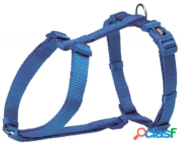 Trixie premium pettorina h m - l 52-75 cm/20 mm blu
