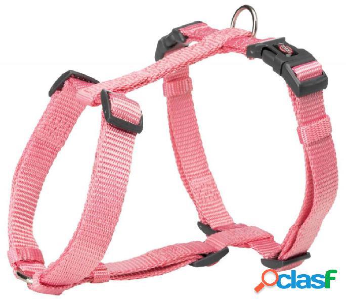 Trixie premium pettorina h m - l 52-75 cm/20 mm rosa