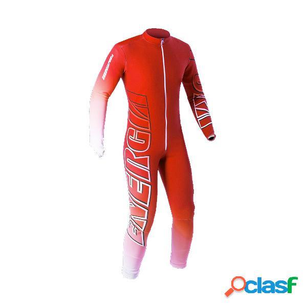 Tuta gara Energiapura (Colore: rosso-bianco, Taglia: 10Y)