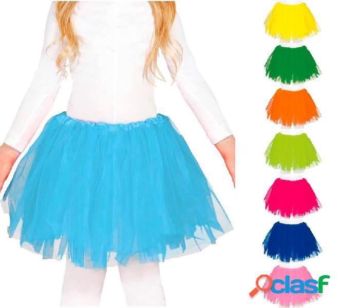 Tutu 30 cm in vari colori per bambina