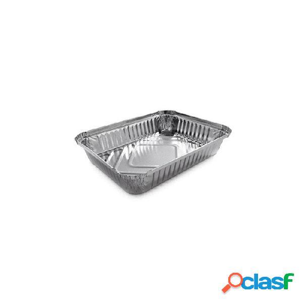 Vaschetta Rettangolare Monouso Per Alimenti In Alluminio Lt