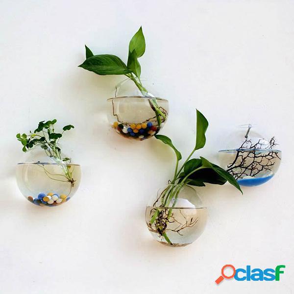 Vaso Idroponico di Vetro Creativo Trasparente da Appendere a