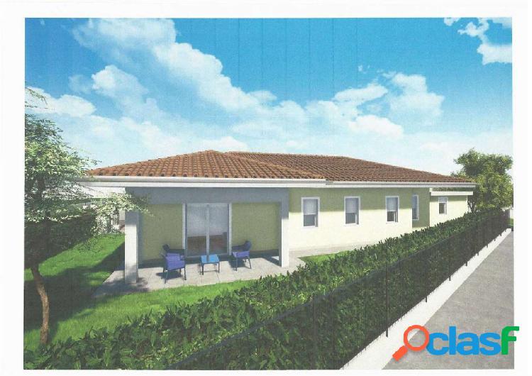 Villa singola nuova con giardino mq.532