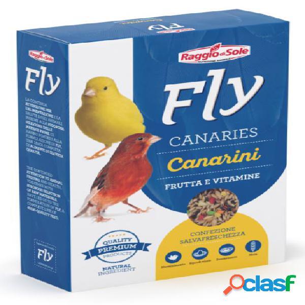 fly hobby canaries canarini frutta vitamente gr 300 -