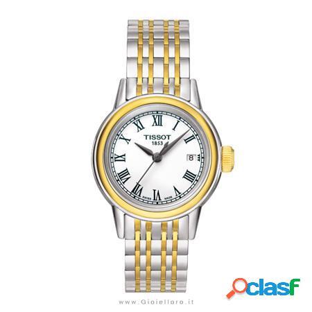 orologio carson donna acciaio e pvd oro giallo