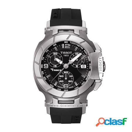 orologio t-race chronograph lady t048217.17.057.00