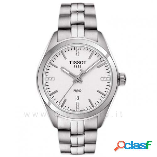 orologio tissot donna pr 100 quartz lady t101.210.11.036.00