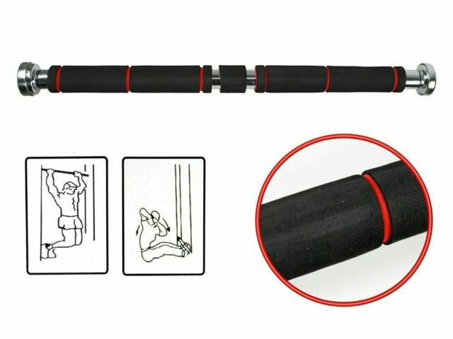 Barra per trazioni da porta regolabile  cm