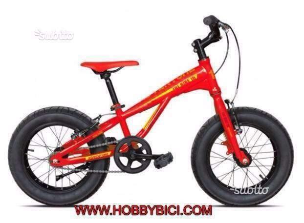 "Fat bike 16"" torpado bimbo nuove"