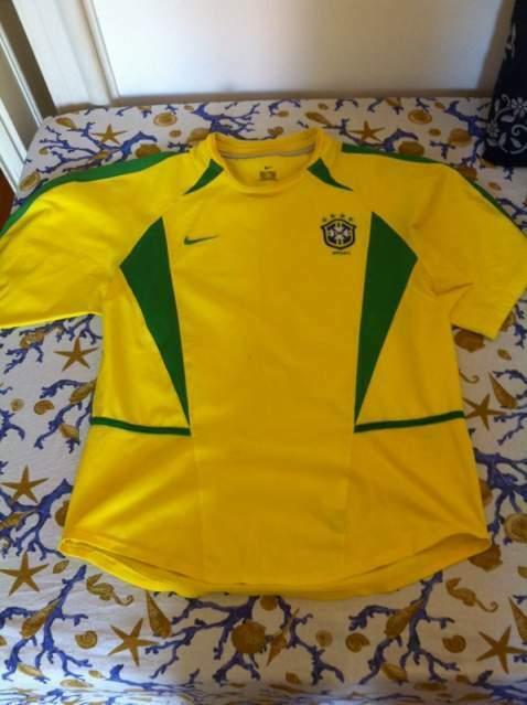 Maglia originale calcio Brasile