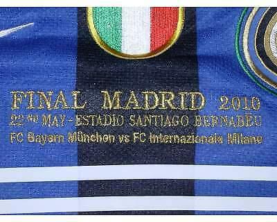 Milito 22 inter finale madrid champions league  con