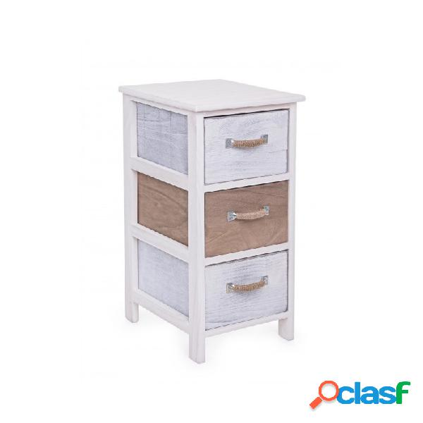 Arredinitaly Outlet Cassettiera 3c Meredith 26x32