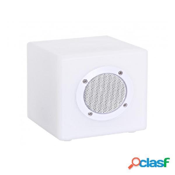 Arredinitaly Outlet Lampada Led Cubo Speaker Pe 15x15