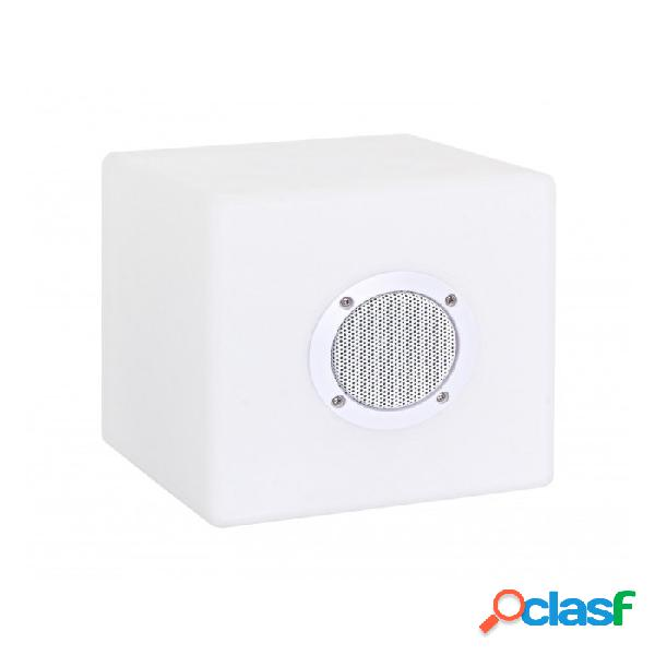 Arredinitaly Outlet Lampada Led Cubo Speaker Pe 20x20