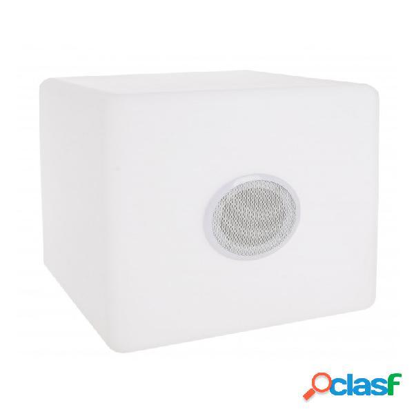 Arredinitaly Outlet Lampada Led Cubo Speaker Pe 40x40