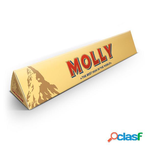 Barretta di cioccolato Toblerone per la Festa della Mamma -