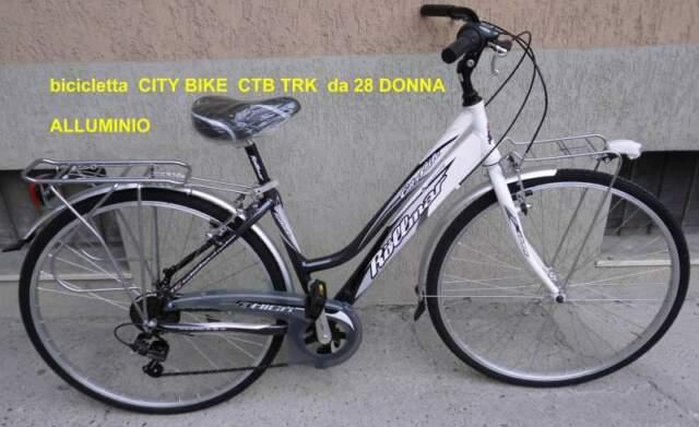Bicicletta CITY BIKE CTB TRK da 28 DONNA
