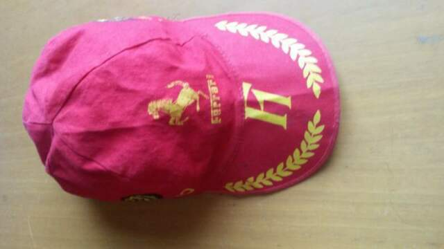 Cappellino Ferrari formula 1 anni  vintage