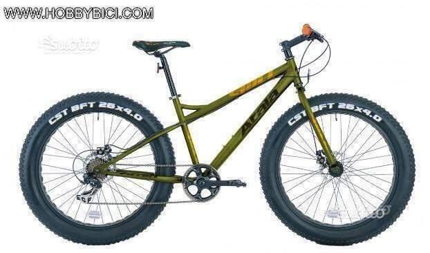 Fat bike bull disk atala nuove