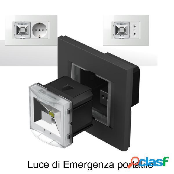 Lampada di emergenza portatile a LED 250V - 2M