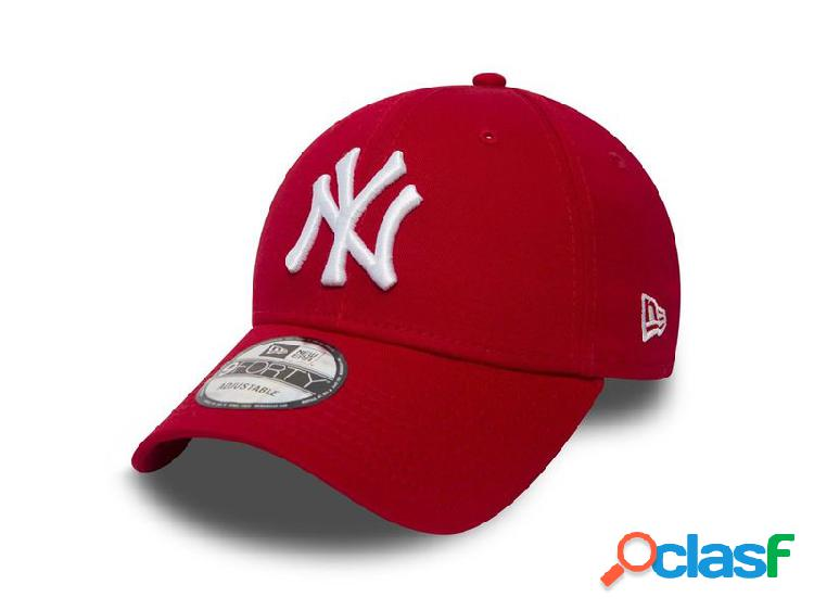 New Era 940 league basic new york yankees scarlet optic