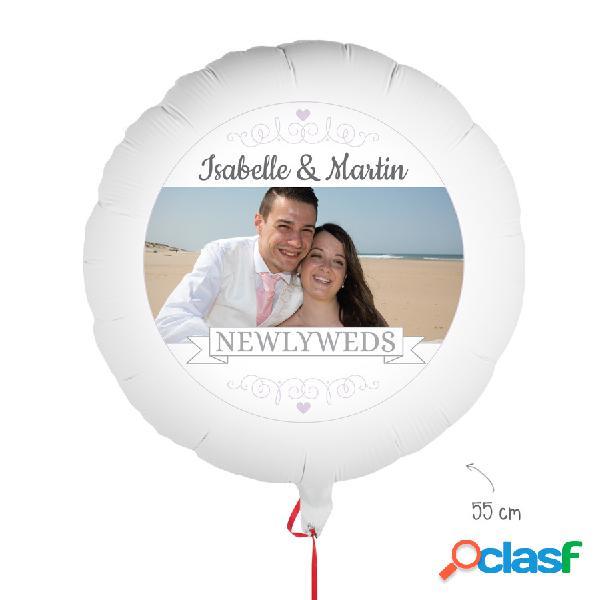 Palloncino con foto - Matrimonio