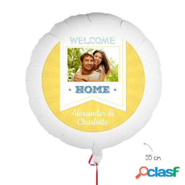 Palloncino con foto - Welcome Home