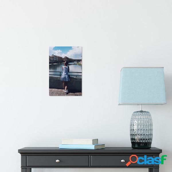 Pannello fotografico in alluminio ChromaLuxe (20x30 cm)