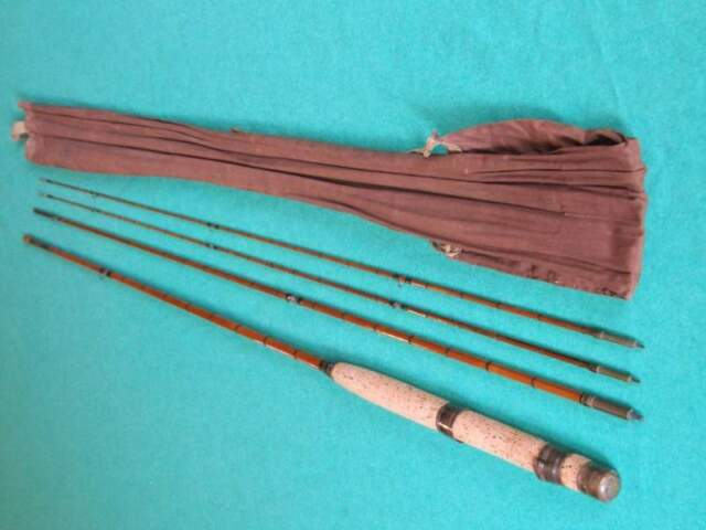 Pesca a Mosca: Canna in bamboo 9' Milward made in England