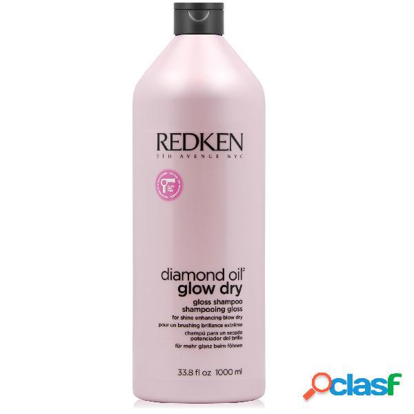 Redken Diamond Oil Glow Dry Gloss Shampoo 1000 ml