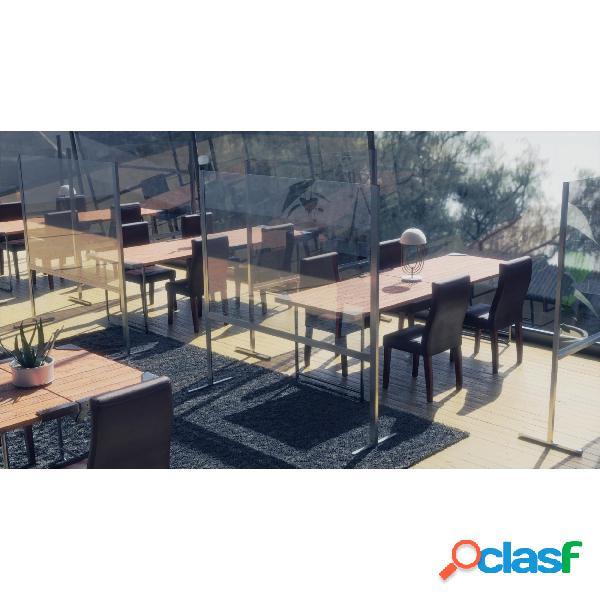 Separatore paravento per spazi ristorante, bar da terra 150
