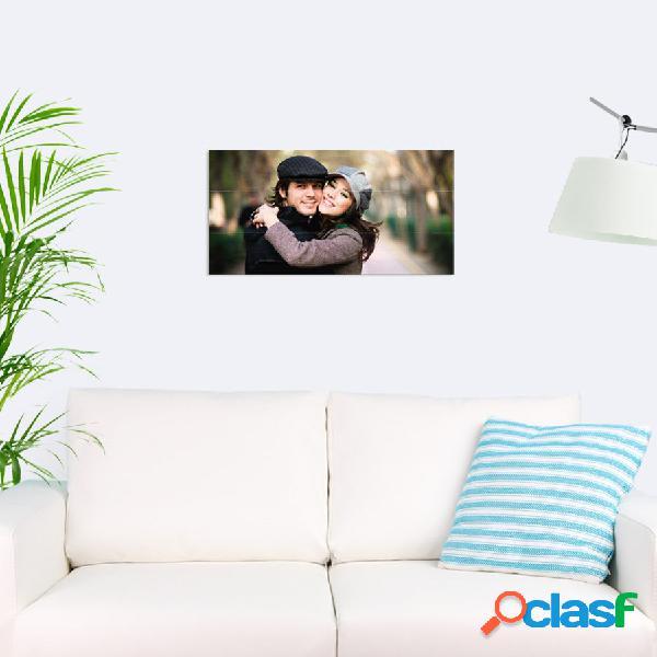 Stampa fotografica su tavole di legno (60x30cm)