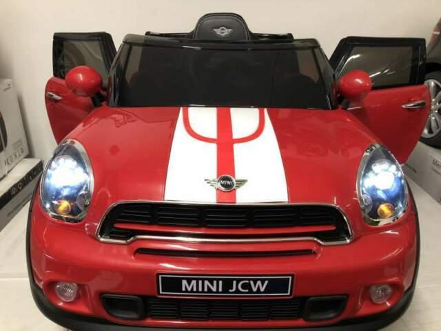 Auto macchina elettrica mini Paceman 12v rosso (limitato)