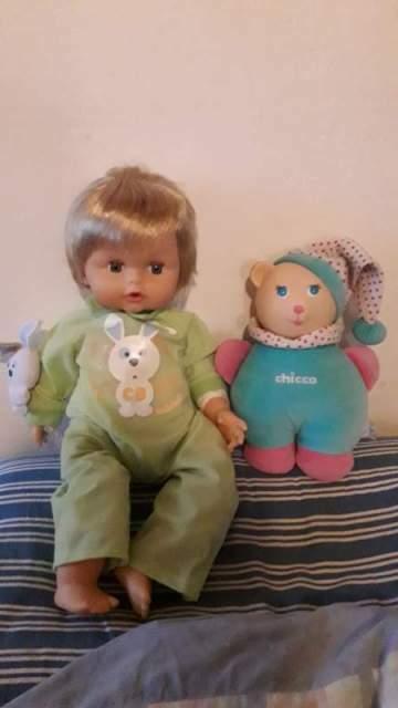 Bambola Cicciobello e Chicco